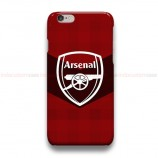 Arsenal FC Logo 3  iPhone Custom Cover Hard Cases