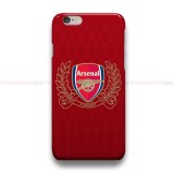 Arsenal FC Logo 2  iPhone Custom Cover Hard Cases