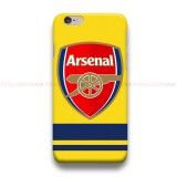Arsenal FC Logo 5  iPhone Custom Cover Hard Cases