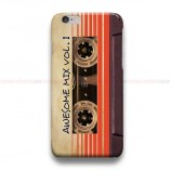 Awesome Mix Vol 1 Cassette iPhone Custom Cover Hard Cases