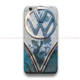 Blue Rusty VW  iPhone Custom Cover Hard Cases