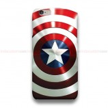 Captain America Shield 2 iPhone Custom Cover Hard Cases