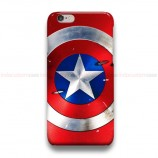 Captain America Shield iPhone Custom Cover Hard Cases
