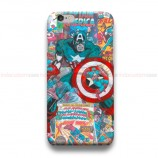 Captain America Vintage Comic  iPhone Custom Cover Hard Cases