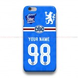 Chelsea Custom Name Number CISC  iPhone Custom Cover Hard Cases