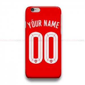 Custom Your Name And Number Arsenal UCL  iPhone Custom Cover Hard Cases