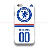Custom Your Name And Number Chelsea Adidas  iPhone Custom Cover Hard Cases