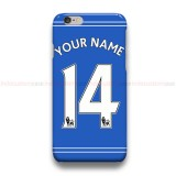 Custom Your Name And Number Chelsea EPL  iPhone Custom Cover Hard Cases