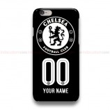 Custom Your Name And Number Chelsea Logo iPhone Custom Cover Hard Cases