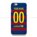Custom Your Name And Number FC Barcelona 2015  iPhone Custom Cover Hard Cases