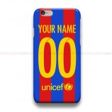 Custom Your Name And Number FC Barcelona 2016  iPhone Custom Cover Hard Cases
