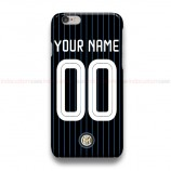 Custom Your Name And Number Inter Milan OF  iPhone Custom Cover Hard Cases