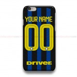 Custom Your Name And Number Inter Milan iPhone Custom Cover Hard Cases