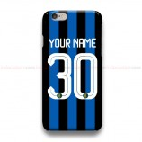 Custom Your Name And Number Internationale Milan  iPhone Custom Cover Hard Cases