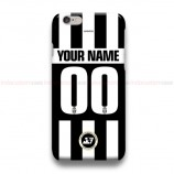 Custom Your Name And Number Juventus ST2  iPhone Custom Cover Hard Cases