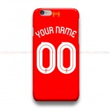 Custom Your Name And Number Liverpool iPhone Custom Cover Hard Cases