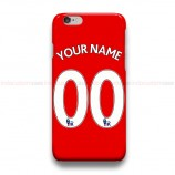 Custom Your Name And Number Liverpool EPL iPhone Custom Cover Hard Cases