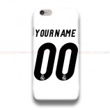 Custom Your Name And Number Real Madrid 2016  iPhone Custom Cover Hard Cases