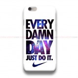 Every Damn Day Nike Nebula iPhone Custom Cover Hard Cases