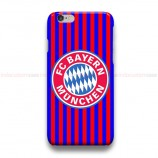 FC Bayern Munchen Striped iPhone Custom Cover Hard Cases