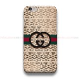 Gucci Gold Logo iPhone Custom Cover Hard Cases