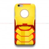 Ironman Yellow iPhone Custom Cover Hard Cases