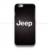Jeep On Carbon iPhone Custom Cover Hard Cases