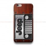 Jeep On Wood RB iPhone Custom Cover Hard Cases