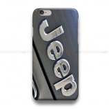 Jeep Silver Logo iPhone Custom Cover Hard Cases