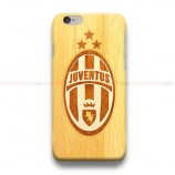 Juventus Logo On Wood ST2  iPhone Custom Cover Hard Cases