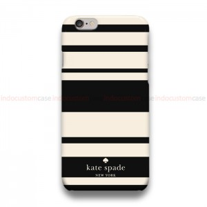 Kate Spade Striped BS  iPhone Custom Cover Hard Cases