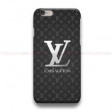 Luois Vuitton Silver Logo  iPhone Custom Cover Hard Cases