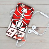 Marc Marquez MM93 FSC07 iPhone Custom Cover Hard Cases