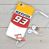 Marc Marquez MM93 FSC12 iPhone Custom Cover Hard Cases