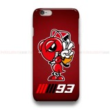 Marc Marquez MM93 iPhone Custom Cover Hard Cases
