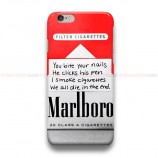 Marlboro Red iPhone Custom Cover Hard Cases