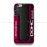 Mitsubishi Cover Engine Red  iPhone Custom Cover Hard Cases