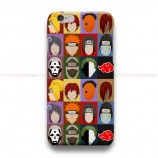 Naruto Charracter  iPhone Custom Cover Hard Cases