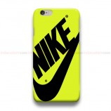 Nike Yellow iPhone Custom Cover Hard Cases