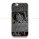 One Piece Wanted Poster  iPhone Custom Cover Hard Cases