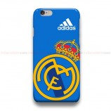 Real Madrid CF Logo Blue iPhone Custom Cover Hard Cases