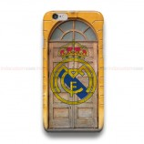Real Madrid CF On Door iPhone Custom Cover Hard Cases