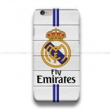 Real Madrid CF On Wood  iPhone Custom Cover Hard Cases