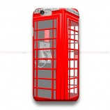 Red Telephone Box London  iPhone Custom Cover Hard Cases