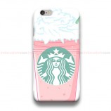 Starbuck PinkArt iPhone Custom Cover Hard Cases