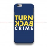 Turn Back Crime iPhone Custom Cover Hard Cases