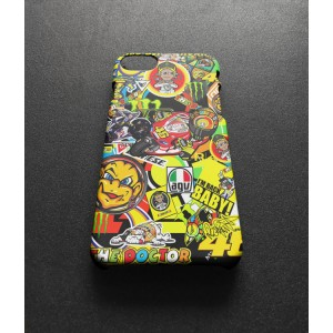 Valentino Rossi The Doctor VR46 GGP16 iPhone Custom Cover Hard Cases