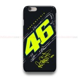 Valentino Rossi VR46 GGP  iPhone Custom Cover Hard Cases