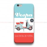 Vespa La Dolce Vita iPhone Custom Cover Hard Cases