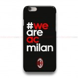 We Are AC Milan Black 2  iPhone Custom Cover Hard Cases